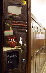 School Locker Door Organizer