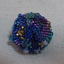 Peyote Beaded Bead