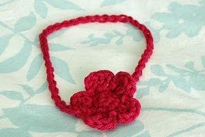 Free Crochet Pattern Baby Headband Allfreecrochet Com