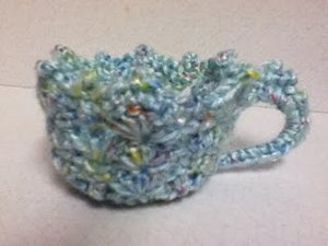 Crocheted Tea Cup