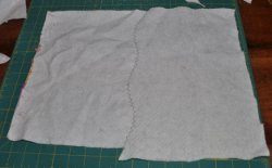 Piecing Batting with a Curved Seam