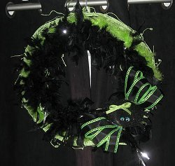 Along Came a Spider Wreath