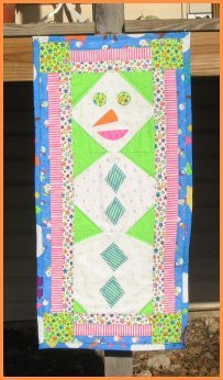 Snowman Quilt Wall Hanging