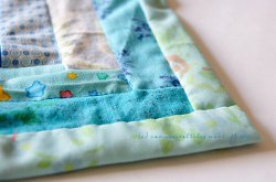 How to Self Bind a Quilt