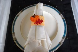 Fall Party Napkin Rings