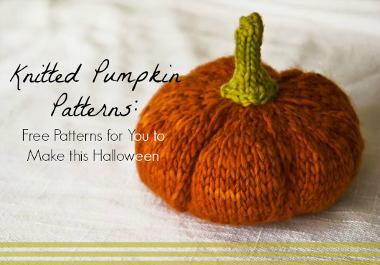 10 Knit Pumpkin Patterns Allfreeknitting Com