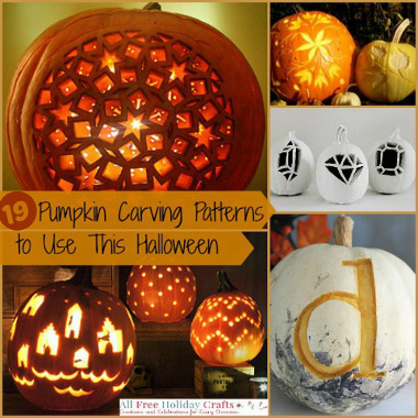 19 pumpkin carving patterns: free to use this halloween