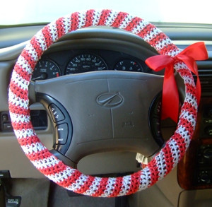 Candy Cane Steering Wheel