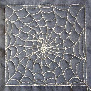 Spiderweb Quilting Design