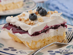 Blueberries 'n' Cream Cake