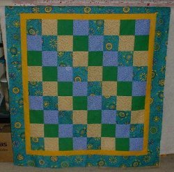 Streak of Sunshine Baby Quilt