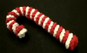 Basic Crochet Candy Cane