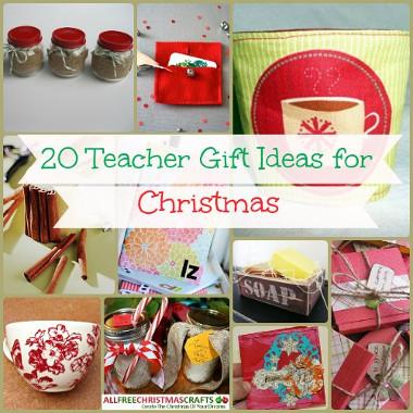 Teacher Christmas Gifts.20 Teacher Gift Ideas For Christmas Allfreechristmascrafts Com