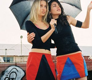 Recycled Umbrella Skirt