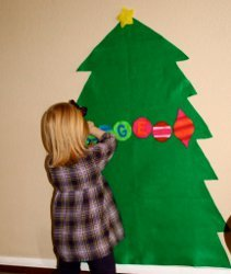 Playtime Felt Christmas Tree