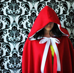 Red Riding Hood Cape Tutorial