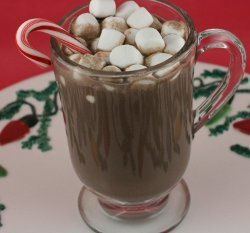 Slow Cooker Peppermint Hot Chocolate or Peppermint Mocha Recipe