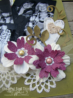 Blooming Scrapbook Flowers