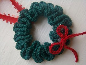 Beginner Christmas Wreath Ornament Allfreecrochet Com