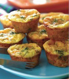 Make Many Mini Frittatas