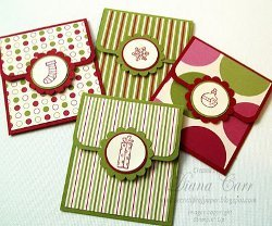 Holiday Happies Gift Card Holders