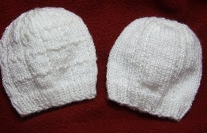 Simple Lines Baby Hat