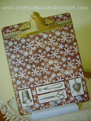 Decorative Clipboard Favecrafts Com