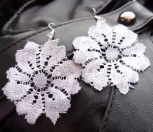 Easy Lace Earring Tutorial
