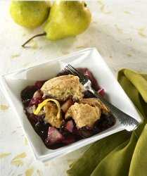 Blueberry Lemon Country Cobbler