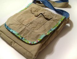 Messenger Bag From Cargo Pants