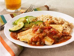 Turkey Cutlets with Creole Gravy