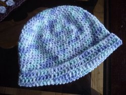 Half Double Crochet Baby Hat
