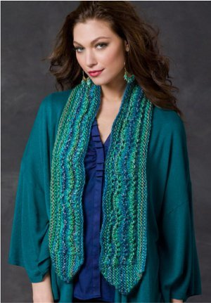 Ocean Waves Scarf FaveCrafts