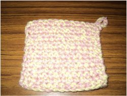 Quick and Easy Dishcloth
