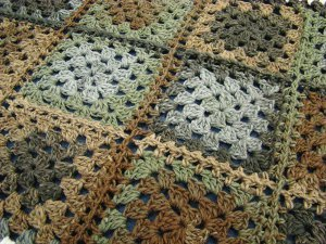 Country Cottage Granny Afghan