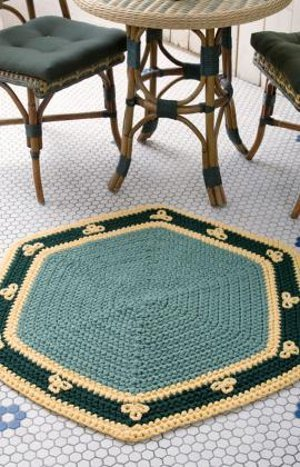 Easy Hexagon Rug