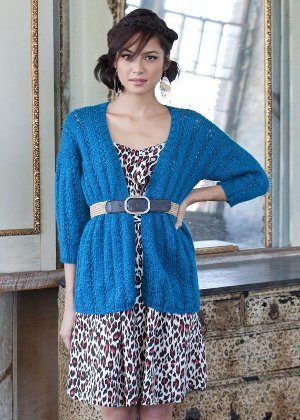 Free Easy Knitting Patterns For Ladies Cardigans : 25 Free Knitted Sweater Patterns for Women FaveCrafts.com