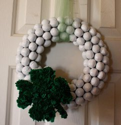 Nutty Clover Wreath