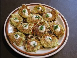 No Fuss Cabbage Fritters