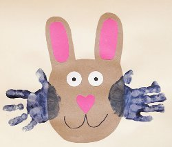 Mr. Whiskers Handprint Craft