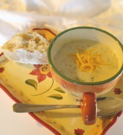 Easy Broccoli Cheese Soup