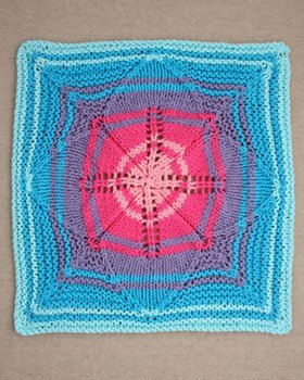 Flowerburst Dishcloth