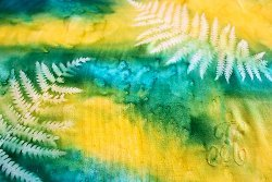 DIY Sun Printed Fabric