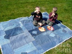 Denim Picnic Quilt