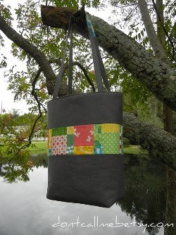 Scraptastic Quilted Tote