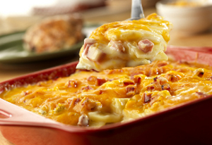 Country Ham Scalloped Potatoes