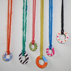Repurposed Washer Necklaces