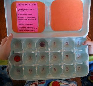 Egg O Math Game