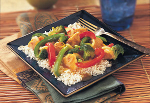 Orange Chicken & Vegetable Stir-Fry