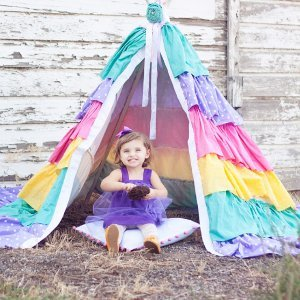 Dreamy Ruffled Teepee